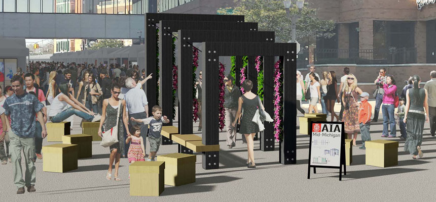 Introducing: Sensory, a Placemaking Installation!
